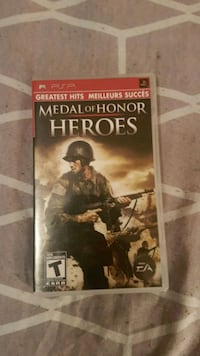 Medal of Honor Heroes PSP game Montréal, H8N 1B2