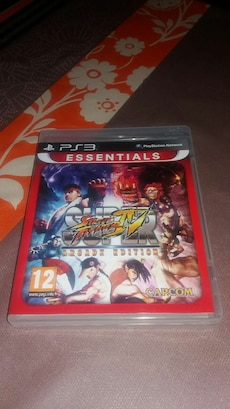 Juego ps3 super street fighter IV