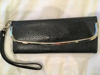Black Wristlet (faux snakeskin design) Washington, 20002