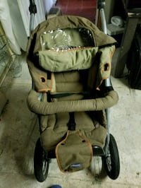 baby's brown and black stroller Montréal, H1Z 1H2