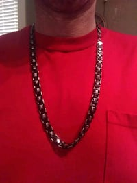 black and silver beaded necklace St. Louis, 63111