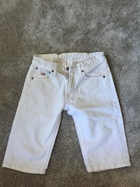 Shorts denim blanc Puteaux, 92800