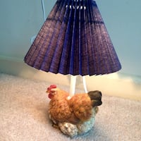 Vintage style rooster mini lamp Columbia, 21044