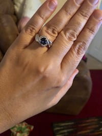 Beautiful Ring with a pretty blue stone size 9 price is firm  North Chesterfield, 23234