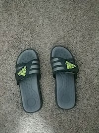 adidias sliders size 10 fits 11 and 12 Pitt Meadows