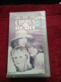 Crimes of the heart vhs tape Hickory, 28601
