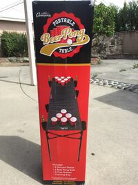 Portable Beer pong table. Brand new unopened