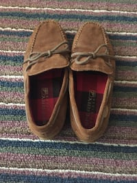 brown Sperry Topsider moccasin shoes