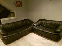 Leather Sofa ( three seater and two seater) Brampton, L6T