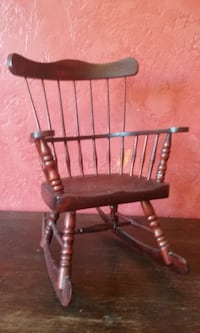 Vintage - Doll Wooden Rocking chair