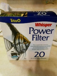 Whisper power filter 20 38 km