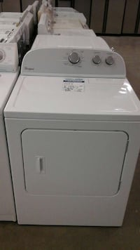White Hotpoint by GE Electric Dryer