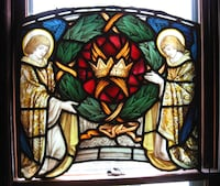 Religious stained glass CLEVELAND