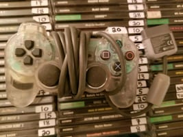 Clear PS1 controller