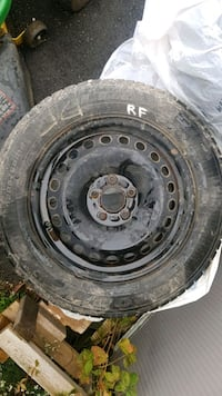 winter tires with rims Grimsby, L3M