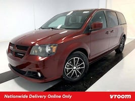 2018 Dodge Grand Caravan Octane Red Pearlcoat van