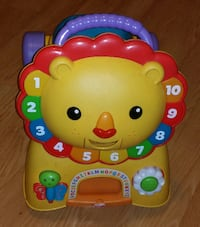Fisher Price Lion Ride On Toy
