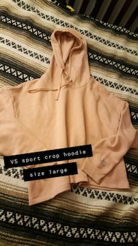VS sport crop hoodie  South Bend