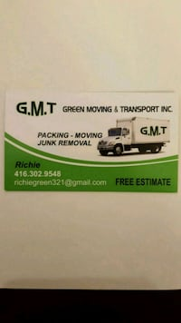 Local moving Mississauga, L5S 1R7