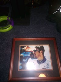 Greg Moore singed picture (RARE) Vancouver, V6E