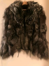Natural fur coat