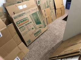 Countless Boxes and approx 50 moving blankets
