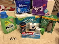 assorted cleaning essential and toiletries Vineland, 08360