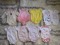 Baby Girl Clothes (0-9 months)- 18 items  Falls Church, 22042
