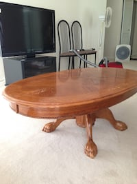 Coffee table and side table wooden Richmond, V7E