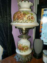 white and red floral table lamp Buffalo, 14201