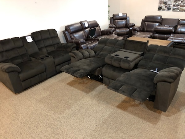 7702 Smt Dual Recliner Sofa Usage A Vendre A Cedar Hill Letgo