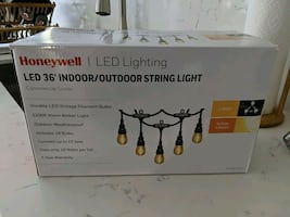 Honeywell LED 36' Indoor/Outdoor String Lights (Commerical Grade)