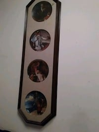 Four Rockwell Plates in frame London, N5V 3P3