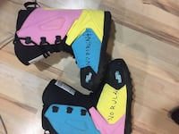 blue-pink-yellow-and-black snowboard boots Kelowna, V1W 4S6