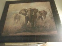 AWESOME PAINTING OF ELEPHANTS