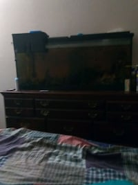 50 gllon tank, stand, fish,and MANY extras. Houston, 77073