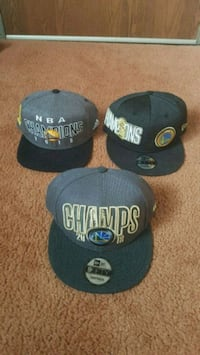 Warriors championship hats  Fairfield
