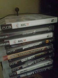 assorted PS3 game case lot Toronto, M6L 2B1
