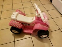 toddler's pink and white ride-on toy Tracy, 95376