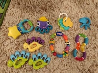 Assorted set of baby teethers Freehold