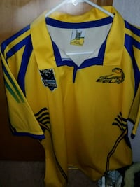 yellow and blue Adidas jersey Olympia, 98503