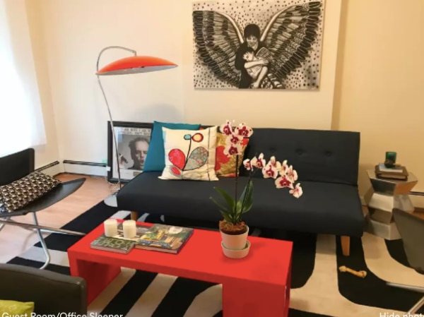 Used CB Atomic Lobster Arc Floor Lamp For Sale In New York Letgo - Cb2 tux coffee table