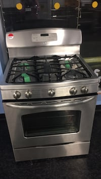 stainless steel gas range oven Toronto, M3J