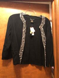 Black Sequin's jacket - Brand New!  Size - P/L Omaha, 68106