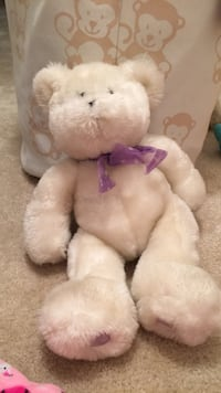 White and pink bear plush toy Aldie, 20105