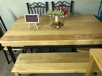 Homemade Wooden Table Columbia