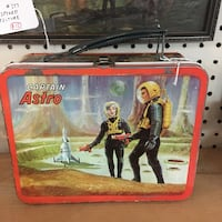 1966 Captain Astro Outer Space Lunchbox  Bethlehem, 18109