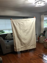Thermal Blackout Curtains Cream Alexandria, 22312