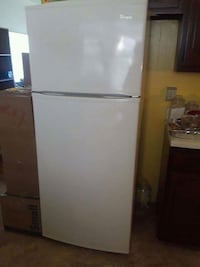 white top-mount refrigerator Portsmouth, 23701