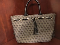 gray and black Dooney and Bourke tote bag Rockville, 20850